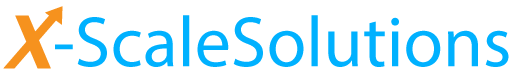X-ScaleSolutions Logo